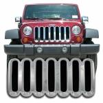 Grille Overlays - Jeep