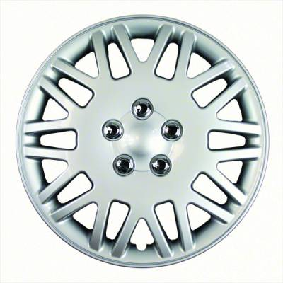"""40616S 1998-2000 CHRYSLER TOWN AND COUNTRY 16"""" SILVER OEM REPLICA HUBCAP WHEEL COVERS"""