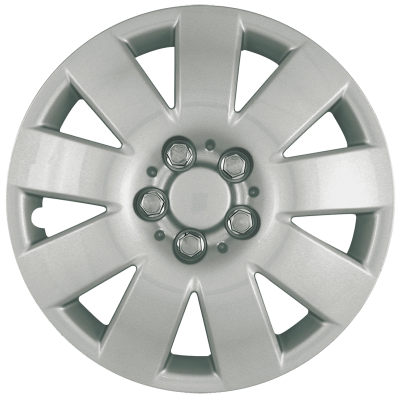 "41015S 2003-2004 TOYOTA COROLLA 15"" SILVER OEM REPLICA HUBCAP WHEEL COVERS"
