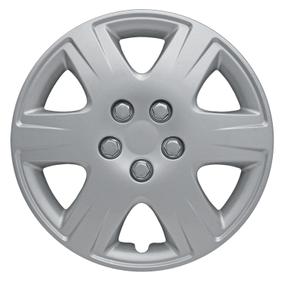 "42215S 2005-2008 TOYOTA COROLLA 15"" SILVER OEM REPLICA HUBCAP WHEEL COVERS"