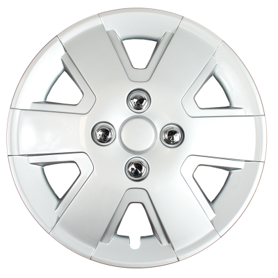 "43215C 2006-2011 FORD FOCUS 16"" CHROME OEM REPLICA HUBCAP WHEEL COVERS"