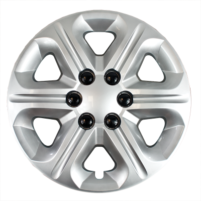 """45417S 2009-2017 CHEVROLET TRAVERSE 17"""" SILVER OEM REPLICA BOLT ON HUBCAP WHEEL COVERS"""