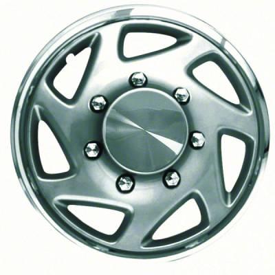 """CCI - 1995-1997 Ford SuperdutySilver OE Replica WheelCover 16"""""""