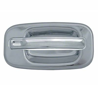 2002-2006 CHEVROLET AVALANCHE CHROME DOOR HANDLE COVERS