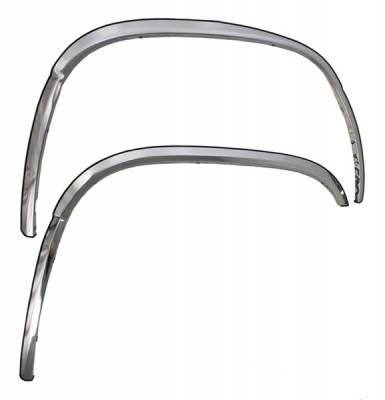 2000-2006 Chevrolet Tahoe Chrome CCI Fender Trim