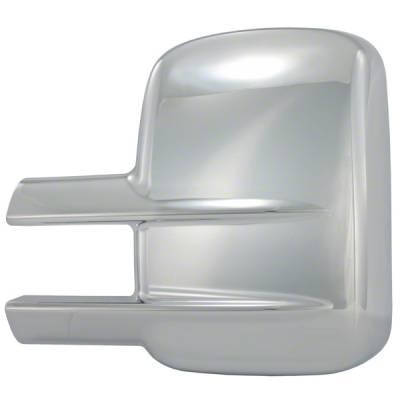 CCI - 2007-2014 GMC Sierra 2500-3500 CCI Chrome Mirror Covers
