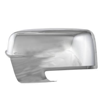 2013-2016 Dodge Ram 2500 CCI Chrome Mirror Covers
