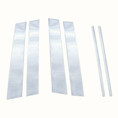 2000-2005 CADILLAC DEVILLE CHROME PILLAR POST COVERS