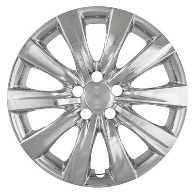 "2011-2013 TOYOTA COROLLA 16"" CHROME AND CHARCOAL OEM REPLICA HUBCAP WHEEL COVERS 50816CC"