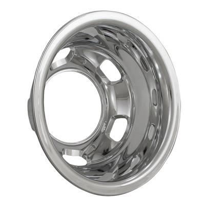 "2003-2018 Dodge Ram 17"" Chrome ABS Wheel Simulator Rear Pair"