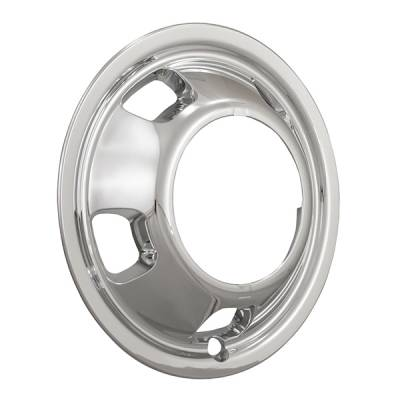 "2003-2018 Dodge Ram 17"" Chrome ABS Wheel Simulator Rear Pair"