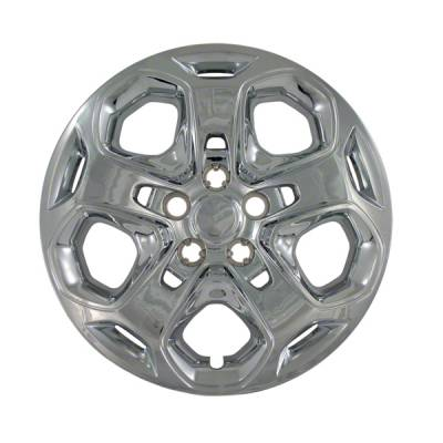 "45717C 2010-2012 FORD FUSION 17"" CHROME OEM REPLICA HUBCAP WHEEL COVERS"