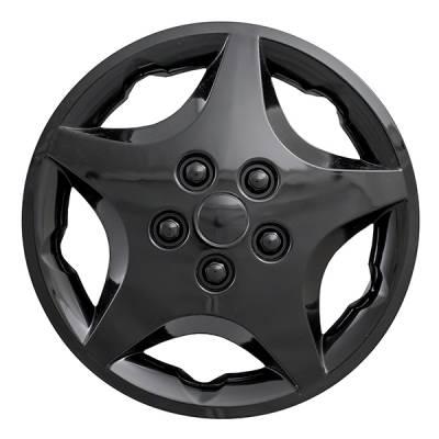 """40914BLK 2000-2005 Chevrolet Cavalier Gloss Black OEM Replica WheelCover 14"""" set of four"""