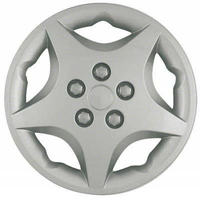 "40914S 2000-2005 Chevrolet Cavalier SILVER OEM Replica WheelCover 14"" set of four"