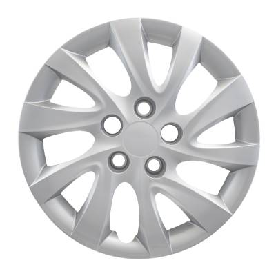 "50116S 2011-2015 HYUNDAI ELANTRA 16"" SILVER OEM REPLICA HUBCAP WHEEL COVERS"