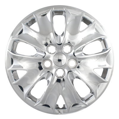 """50316S 2013-2014 FORD FUSION 16"""" SILVER OEM REPLICA HUBCAP WHEEL COVERS"""