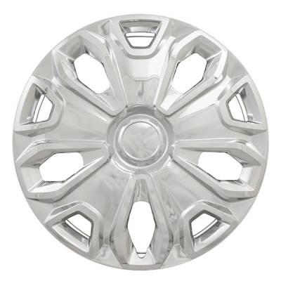 """51216S 2015-2020 FORD TRANSIT 16"""" SILVER OEM REPLICA HUBCAP WHEEL COVERS"""
