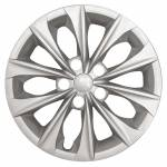 """51416S 2015-2017 TOYOTA CAMRY 16"""" SILVER OEM REPLICA HUBCAP WHEEL COVERS"""