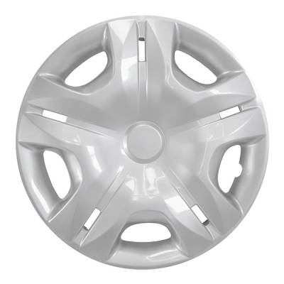 "49715S 2010-2012 NISSAN VERSA 15"" SILVER OEM REPLICA HUBCAP WHEEL COVERS"