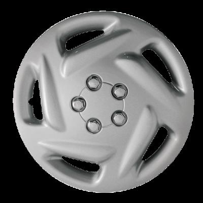 "Silver OE Replica WheelCover 15"" 96-00 Dodge Caravan"