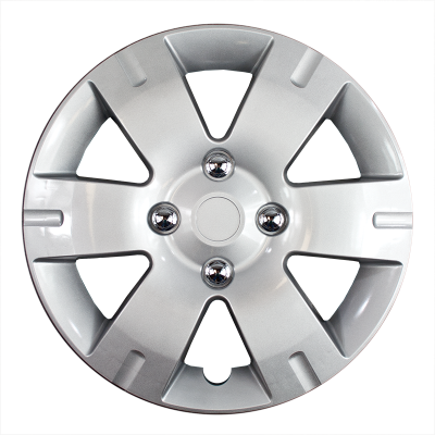 "Universal - 15 - CCI - 2007-2012 NISSAN SENTRA 15"" SILVER OEM REPLICA HUBCAP WHEEL COVERS"