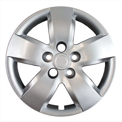 "Nissan - Altima - CCI - 2007-2008 NISSAN ALTIMA 16"" SILVER OEM REPLICA HUBCAP WHEEL COVERS"