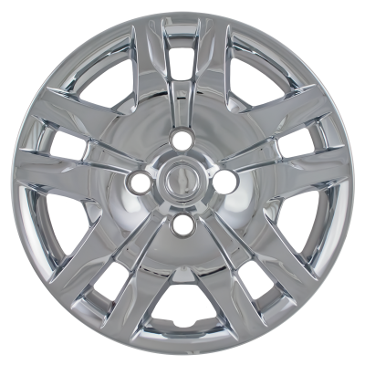 "Nissan - Sentra - CCI - 2010-2012 NISSAN SENTRA 16"" CHROME OEM REPLICA HUBCAP WHEEL COVERS"