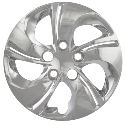 "Honda - Civic - CCI - 2013-2015 HONDA CIVIC 15"" BOLT DOWN SILVER OEM REPLICA HUBCAP WHEEL COVERS"
