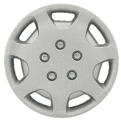 "CCI - 1991-1994 TOYOTA CAMRY 14"" SILVER OEM REPLICA HUBCAP WHEEL COVERS"