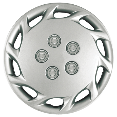 """1997-1999 TOYOTA CAMRY 14"""" SILVER OEM REPLICA HUBCAP WHEEL COVERS"""