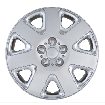 Universal - 15 - CCI - 2001-2003 DODGE STRATUS 15: CHROME AND SILVER OEM REPLICA HUBCAP WHEEL COVERS