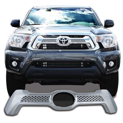 Toyota - Tacoma - CCI - 2012-2015 TOYOTA TACOMA CHROME GRILLE OVERLAY COVER