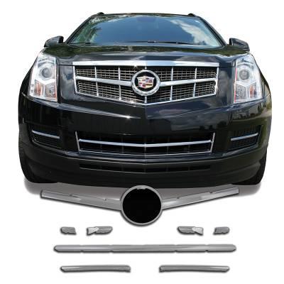 Cadillac - SRX - CCI - 2010-2012 CADILLAC SRX CHROME GRILLE OVERLAY