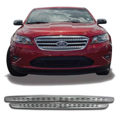 Ford - Taurus - CCI - 2010-2012 FORD TAURUS CHROME GRILLE OVERLAY COVER