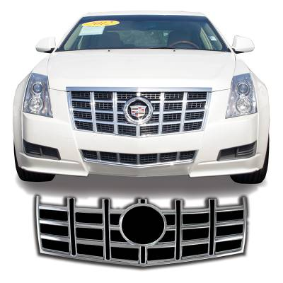 Cadillac - CTS - CCI - 2012-2013 CADILLAC CTS SEDAN AND COUPE CHROME GRILLE OVERLAY