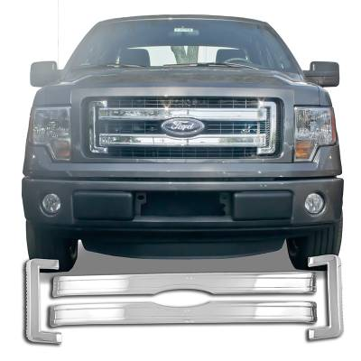 Ford - F150 - CCI - 2013-2014 FORD F150 CHROME GRILLE OVERLAY COVER