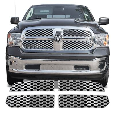 Dodge - Ram 1500 - CCI - 2013-2019 DODGE RAM 1500 CHROME GRILLE OVERLAY