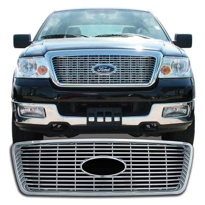 Ford - F150 - CCI - Chrome Grille Overlay 04-08 F150 XLT, Lariat