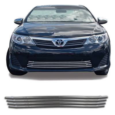 Toyota - Camry - CCI - 2012-2014 TOYOTA CAMRY CHROME GRILLE OVERLAY COVER