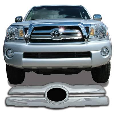 Toyota - Tacoma - CCI - 2005-2010 TOYOTA TACOMA CHROME GRILLE OVERLAY COVER