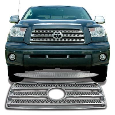 Toyota - Tundra - CCI - 2007-2009 TOYOTA TUNDRA CHROME GRILLE OVERLAY COVER