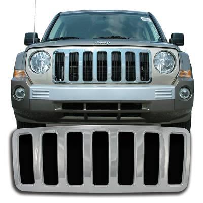 Jeep - Patriot - CCI - Chrome Grille Overlay 07-10 Jeep Patriot