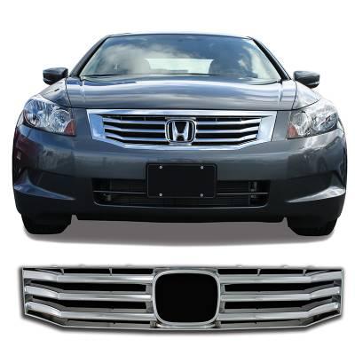 Honda - Accord - CCI - 2008-2010 HONDA ACCORD CHORME GRILLE COVER OVERLAY
