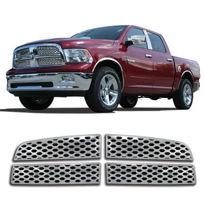 Dodge - Ram 1500 - CCI - 2009-2012 RAM 1500 CHROME GRILLE OVERLAY