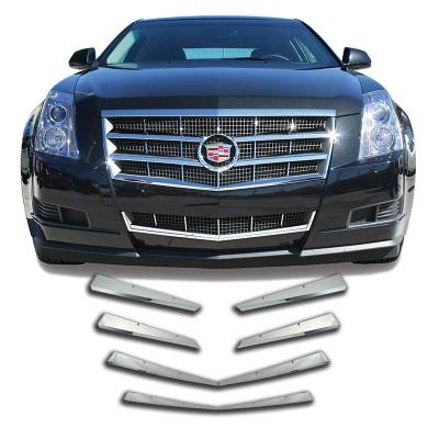 Cadillac - CTS - CCI - 2008-2011 CADILLAC CTS CHROME GRILLE COVER OVERLAY