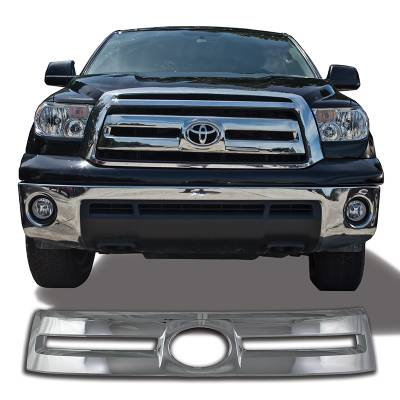 Toyota - Tundra - CCI - 2010-2013 TOYOTA TUNDRA CHROME GRILLE OVERLAY COVER