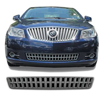 Buick - Lacrosse - CCI - 2010-2012 BUICK LACROSS CHROME GRILLE COVER OVERLAY