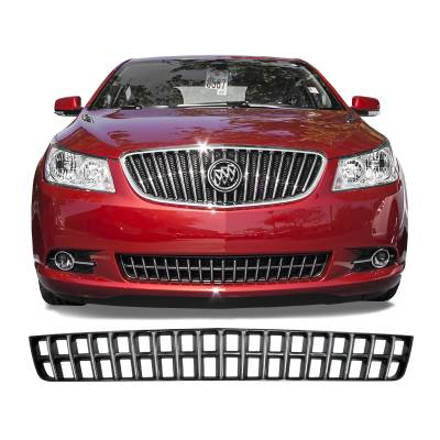 Buick - Lacrosse - CCI - 2013 BUICK LACROSS TWO TONE LOWER HALF GRILLE COVER OVERLAY