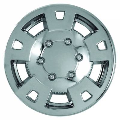 "Chevrolet - Colorado - CCI - 2004-2008 CHEVROLET COLORADO 15"" CHROME WHEEL SKINS SET OF FOUR IMP310X"