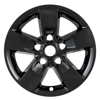 "Dodge - Ram 1500 - CCI - 2013-2018 DODGE RAM 17"" GLOSS BLACK WHEEL SKINS SET OF FOUR IMP345BLK"